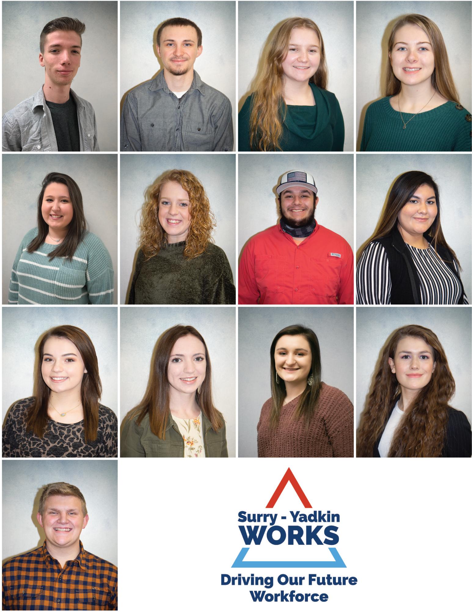 Surry-Yadkin Works Interns North Surry High School