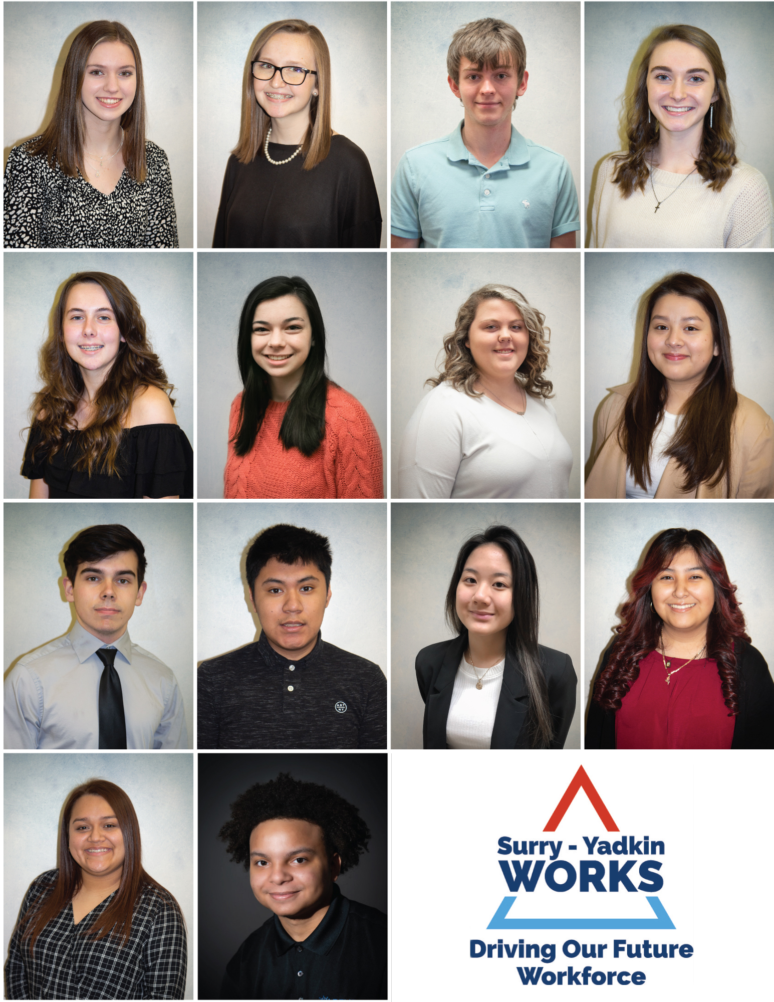 Surry-Yadkin Works Interns Surry Central High School, Surry Early College