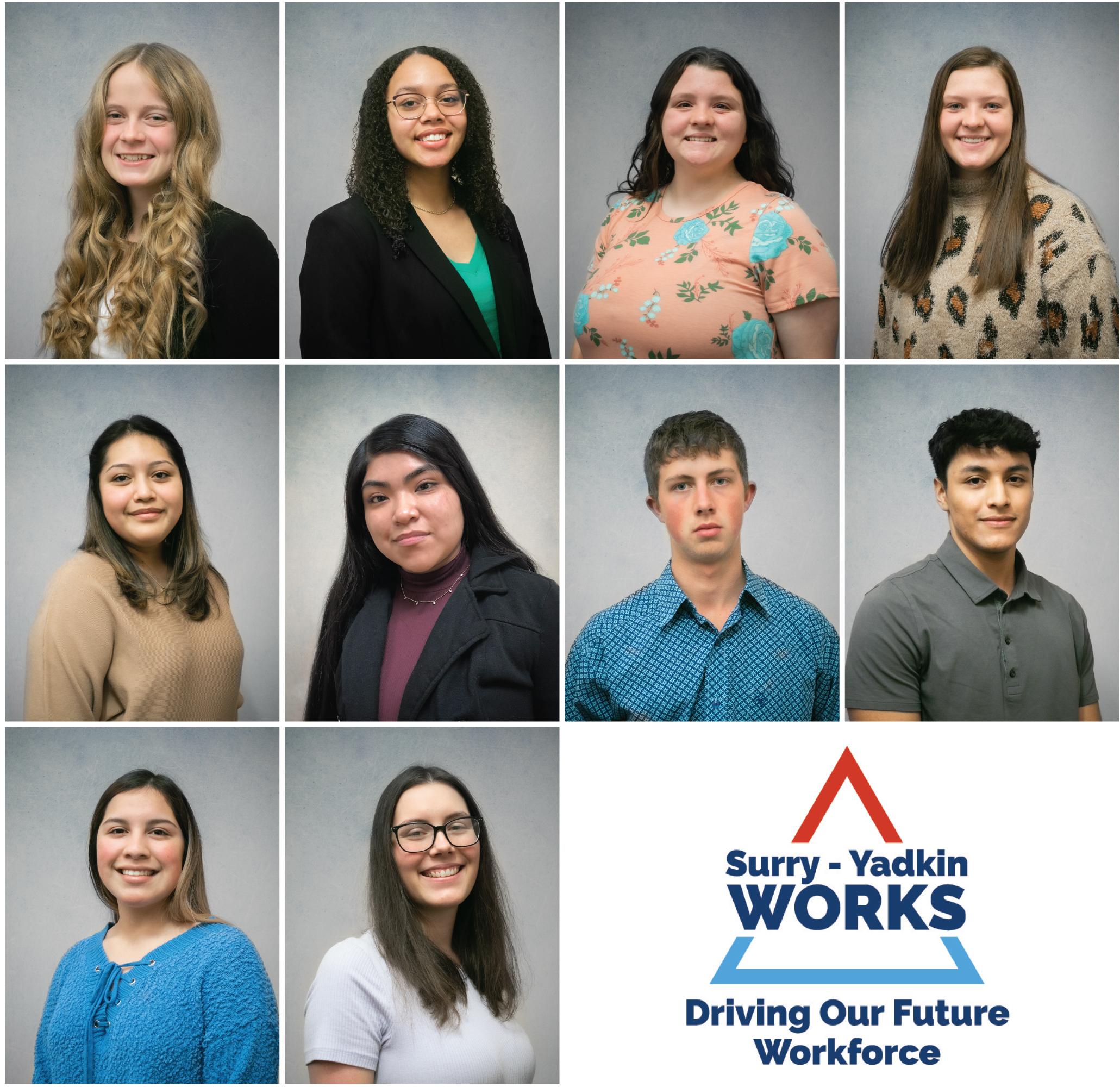 Surry-Yadkin Works Interns Yadkin County