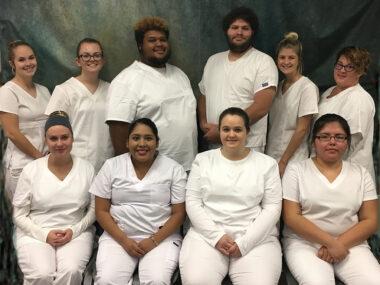 Photo of Surry Community College's Nursing Assistant I class