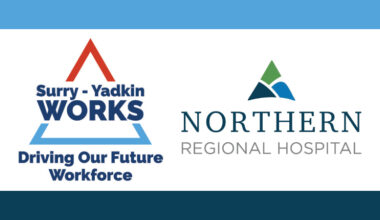 Logo for Surry-Yadkin Works and Northern Regional Hospital