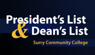 President's List and Dean's List Surry Community College