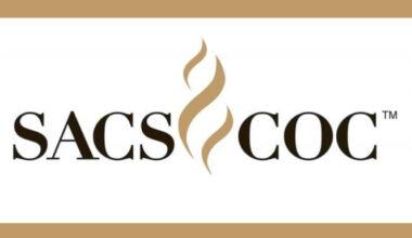 SACSCOC logo with swirls