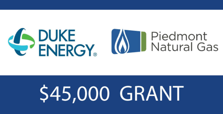 45,000 Grant - Duke Energy - Piedmont Natural Gas