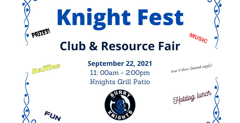 Knight Fest Club & Resource Fair