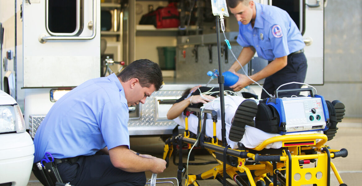 Working Paramedics in the Field