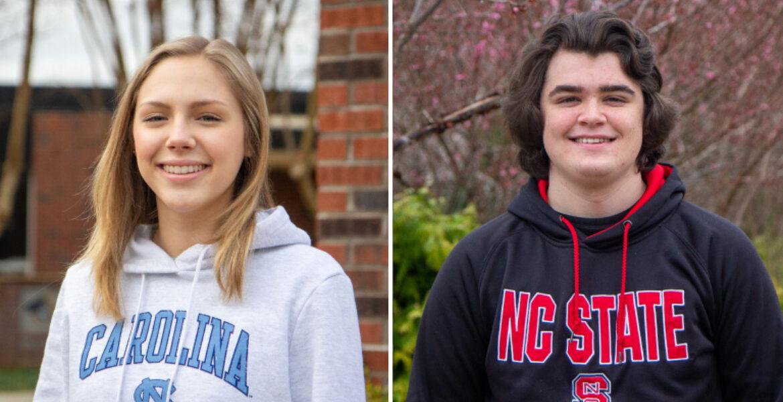 Leah Hayes and Weslee Tucker