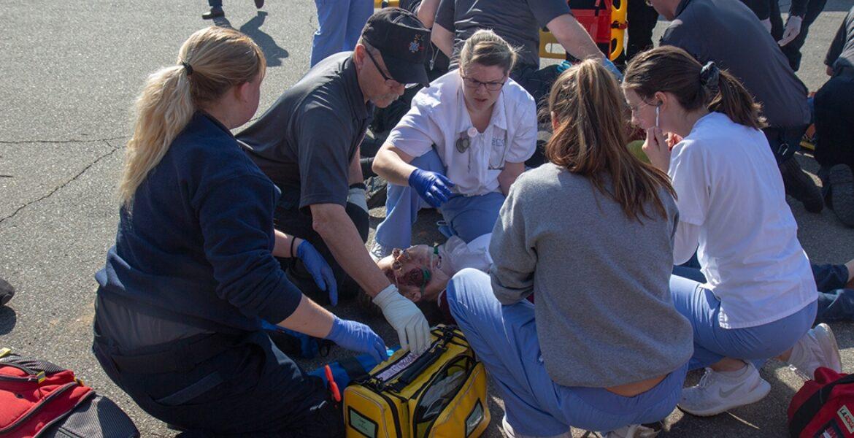 Nurse EMS Simulation