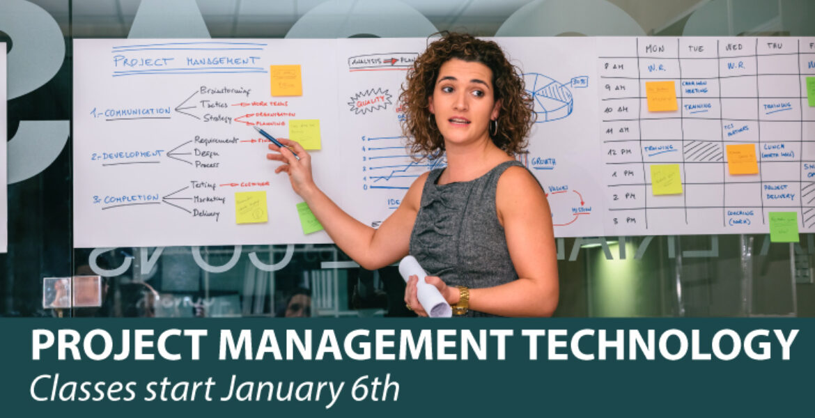 Project Management Technology Classes start January 6th