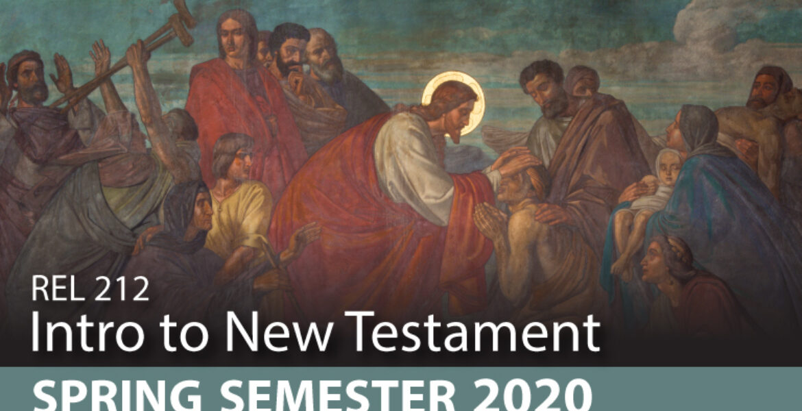 REL 212 - Intro to New Testament