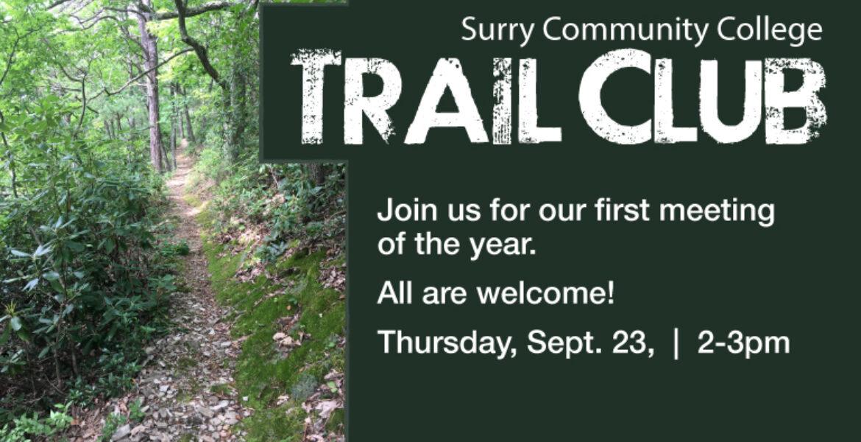 SCC Trail Club first meeting