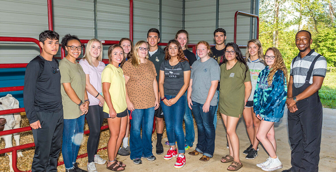 SCC Animal Science Students
