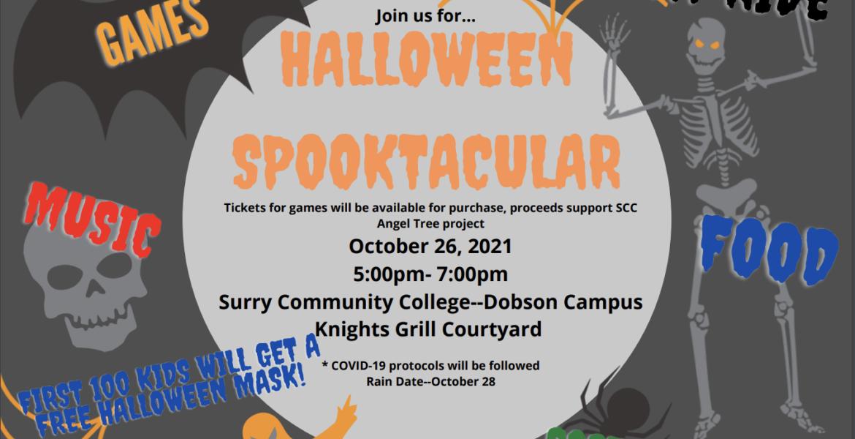 Halloween Spooktacular October 26, 2021 5-7pm