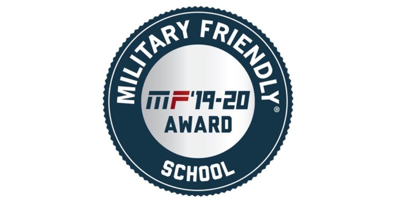 Military friendly 19 20 award
