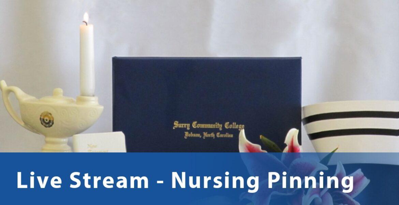 Nurse pinning buttom
